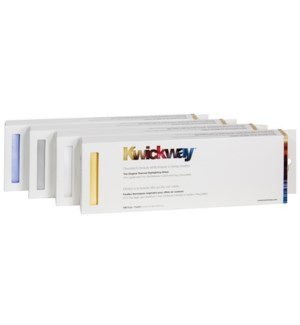 KWICKWAY Silver Highlight Strips 12X3