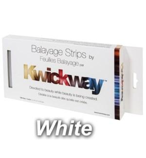 BALAYAGE White Strips 5x10 Inch 150 Strips FP