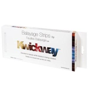 BALAYAGE White Strips 5x12 Inch 150 Strips