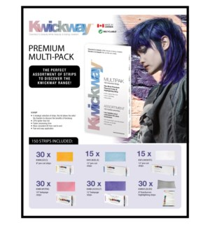 KWICKWAY Multipack Strips 150 Assorted Strips JF18
