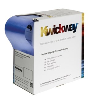 KWICKWAY Blue Thermal Highlighting Strip Roll 445x3-3/34 Inch