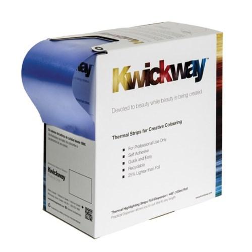 KWICKWAY Blue Thermal Highlighting Strip Roll 445x3-3/34 Inch
