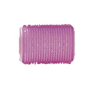 MAGIC Velcro Rollers, Purple 38mm, 6/Bag