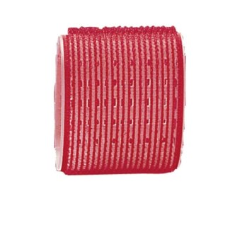 MAGIC Velcro Rollers, Red 65mm, 6/Bag