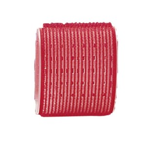 MAGIC Velcro Rollers, Red 65mm, 6/Bag CR12