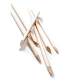 Spa Birchwood Applicator Sticks 4-1/2 Inch, 144/Bag