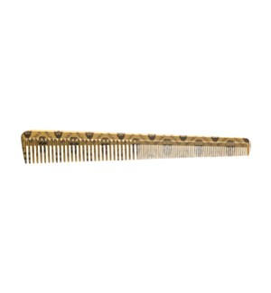 "PEGASUS Gold Barber Comb 7.3"" SO2020"