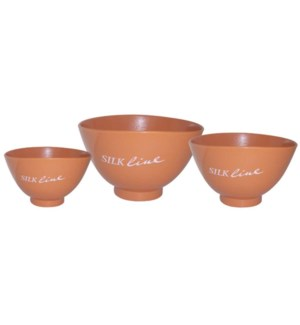 Silkline Soft Rubber Mix Bowls FP FP
