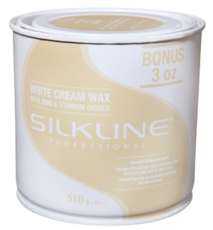 SILKLINE White Cream Wax 18oz
