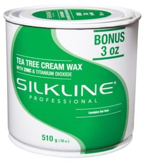 SILKLINE Tea Tree Wax 18oz