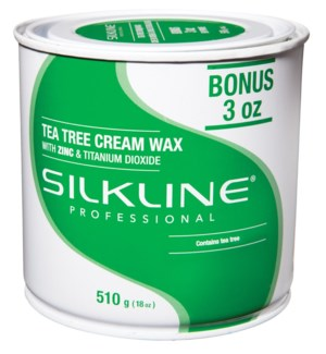 SILKLINE Tea Tree Wax 18oz