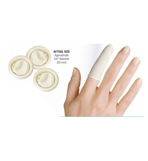 SILKLINE Latex finger Cots 150 pcs One Size
