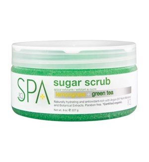 * Lemongrass Green Tea Sugar Scrub 8oz FP
