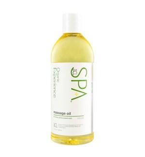 * Lemongrass Green Tea Massage Oil 12oz