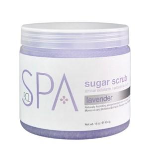 Lavender & Mint Sugar Scrub 16oz