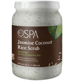 @ BCL SPA 64 Oz. Rice Scrub Jasmine Coconut