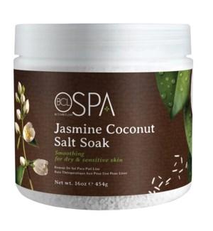 @ BCL SPA 16 Oz. Dead Sea Salt Soak Jasmine Coconut