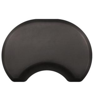 @ FINAL SALE NO RETURNS ELITE 2.5 x 3.5 Round Black Mat JF2021
