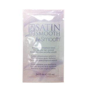 """*BF SATIN SMOOTH Be Smooth Sanitizing Skin Treatment Lotion 10ml"