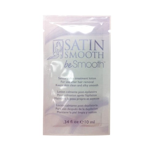 """*BF SATIN SMOOTH Be Smooth Sanitizing Skin Treatment Lotion 10ml"
