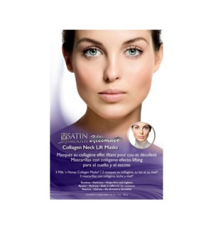 SATIN SMOOTH Collagen Eye Lift Mask, 3 Mask/Box,