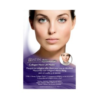 SATIN SMOOTH Collagen Neck Lift Mask 3 Mask/Box (Sold by Case)