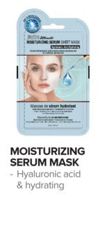 SATIN SMOOTH Moisturizing Serum Mask 24/Box