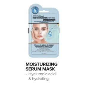 SATIN SMOOTH Moisturizing Serum Mask 24/Box