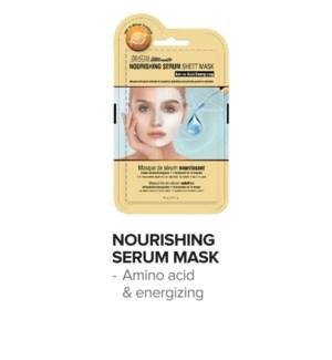 SATIN SMOOTH Nourishing Serum Mask 24/Box