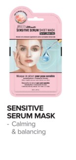 SATIN SMOOTH Sensitive Serum Mask 24/Box
