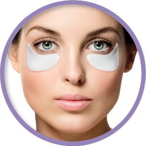SATIN SMOOTH Collagen Under Eye Lift Mask, 3 Mask/Box,