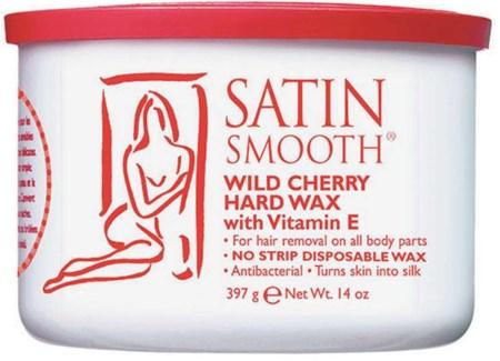 SATIN SMOOTH Wild Cherry Hard Wax w/ Vitamin E