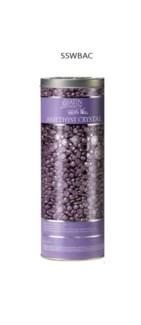 SATIN SMOOTH Amethyst Crystal Thin Film Hard Pebble Wax 23oz