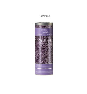 SATIN SMOOTH Amethyst Crystal Thin Film Hard Pebble Wax 23oz