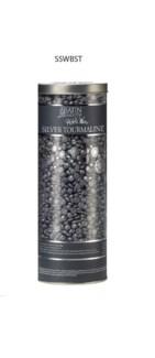 SATN SMOOTH Silver Tourmaline Thin Film Had Pebble Wax 23oz