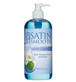 SATIN SMOOTH Skin Preparation Cleanser 16oz SSWLC16G