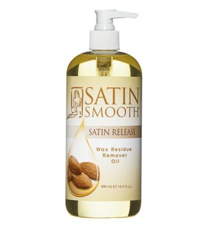 SATIN SMOOTH Wax Residue Remover 16oz SSWLR16G