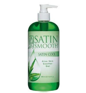 SATIN SMOOTH Aloe Vera Skin Soother 16oz SSWLA16G