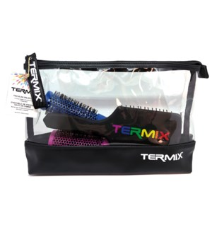 @ 3 Termix Brushes with Carrying Pouch LIMITED EDITION