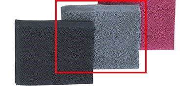 Gray Towel Bleach Proof Sold In 12 Pack 16x27 Inch