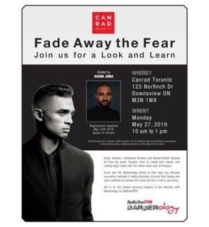 DAN Fade Away The Fear MAY 27/19 TORONTO