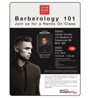 DAN Hands on Barberology with Benson OCT 21/19 TORONTO