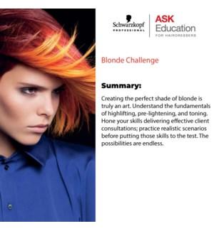 SKP BLONDE CHALLENGE MAR 16/2020 BARRIE
