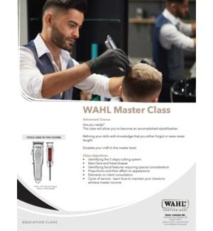 WAHL MASTER CLASS  OCT 23/19 TORONTO