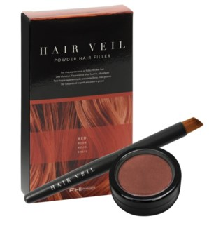 FHI HAIR VEIL Red Powder Hair Filler