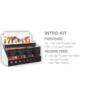 ! FHI HAIR VEIL Intro Kit Plus Testers