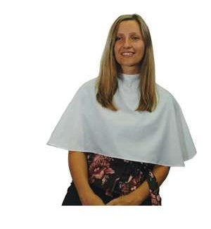 White Finishing Cape