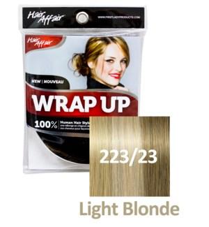 HH #223/23 Light Blonde Wrap Up Bun EXTE