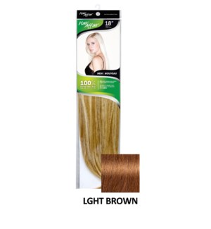 HH 18in 8PC 4HH LGHT BROWN