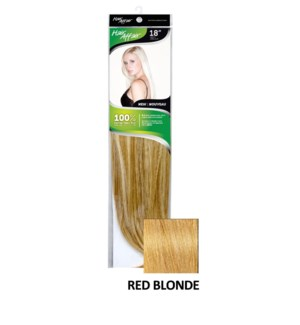 HH 18in 8PC 6HH RED BLONDE